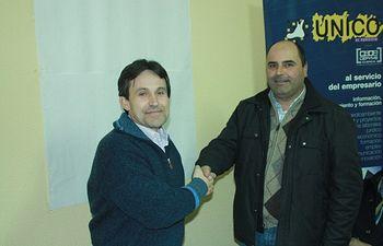 José Olivares y Victor Guerrero