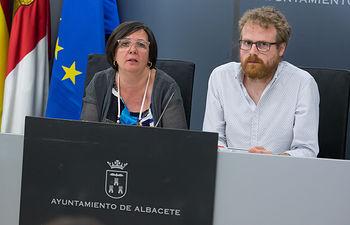 Victoria Delicado y Álvaro Peñarrubia
