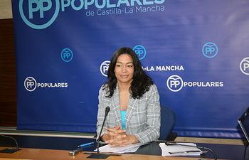 Claudia Alonso, diputada regional del Grupo Parlamentario Popular en las Cortes de Castilla-La Mancha