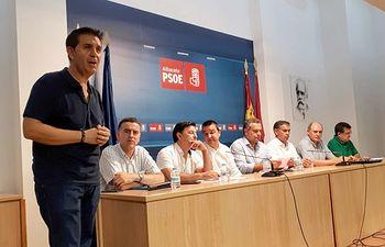 Mesa del Agua. PSOE Albacete