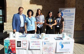 Cuestación Asociación Lassus - Día Europeo de la Depresión.