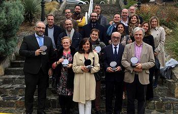 El COFCAM entrega sus segundas medallas del Consejo Regional de Farmacéuticos de Castilla-La Mancha.