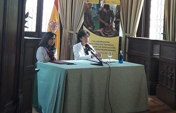Las ministras en funciones Isabel Celaá y Margarita Robles firman hoy un protocolo y un convenio para adaptar la Formación Profesional a la formación militar.
