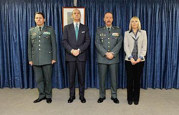 El Director General preside la toma de posesión del nuevo Jefe de la Comandancia de la Guardia Civil de Lleida. Foto: Ministerio del Interior