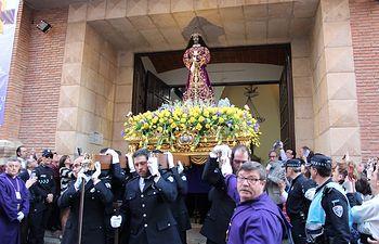 Procesión de Nuestro Padre Jesús de Medinaceli en Albacete. Semana Santa 2017