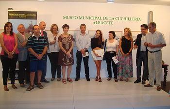 Entrega de los premios del XIV Concurso de Fotografía sobre la Cuchillería de Albacete
