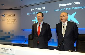 El nuevo Plan Estratégico 2015-2018 de CaixaBank prevé una rentabilidad entre el 12% y el 14% a partir de 2017