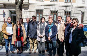 Presentación candidaturas PSOE al Congreso y al Senado.