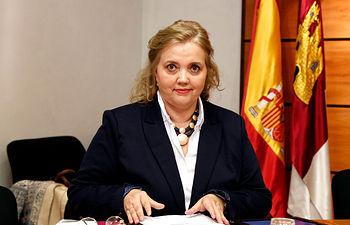 Novillo Comisión Mujer Cortes CLM. Foto: JCCM.
