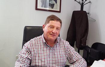 El portavoz del Grupo Socialista en la Diputación de Cuenca, Joaquín González Mena