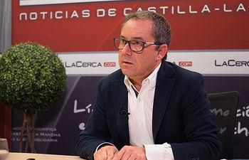 Antonio Martínez, diputado regional del PP en las Cortes de Castilla-La Mancha, y alcalde de Mahora