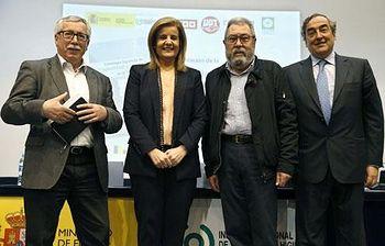 Presentación de la Estrategia Española de Seguridad y Salud en el Trabajo 2015-2020. Foto: EFE.