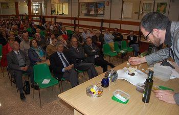 Las I Jornadas de la D.O. Aceite de La Alcarria reúnen a más de 200 personas. Foto: ASAJA CLM.