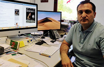 El investigador de la UCLM Joaquín Vicente, coordinador del artículo.