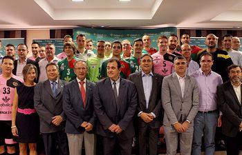 Globalcaja, de nuevo, patrocinador del Club Balonmano Ciudad Encantada de Cuenca