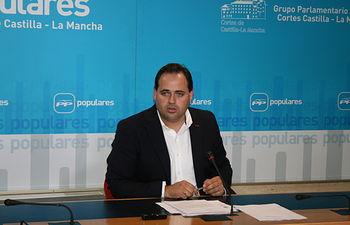 Francisco Núñez, viceportavoz del Grupo Popular.