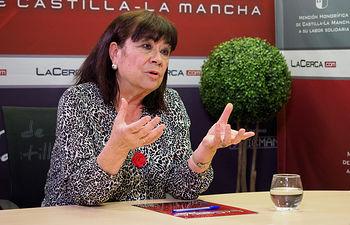 Cristina Narbona, presidenta de la Comisión Ejecutiva Federal del PSOE
