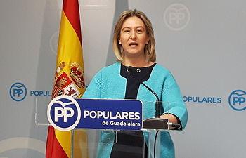 Ana Guarinos, presidenta del PP de Guadalajara. Foto: PP Guadalajara.