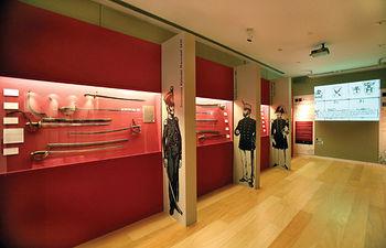 Vista de una de las salas del Museo Municipal de la Cuchillería de Albacete.