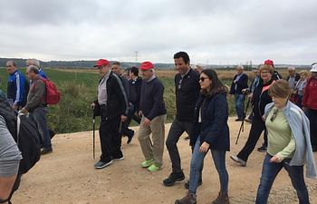 Ruta Senderista de Mayores, en el entorno de Malpica.