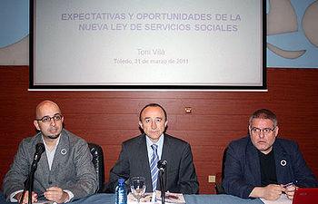 Lamata en la apertura de un seminario sobre la Ley de Servicios Sociales de Castilla-La Mancha