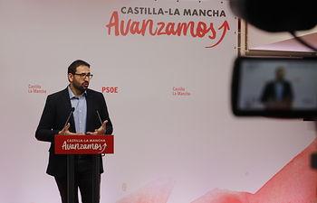 Sergio Gutiérrez, secretario de Organización del PSOE. .