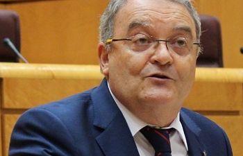 Juan Antonio de las Heras senador por Guadalajara y portavoz del GPP en la Comisión de Presupuestos del Senado