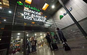 Estación de trenes Albacete Los Llanos
