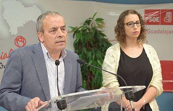 Julio García y Sara Simón.
