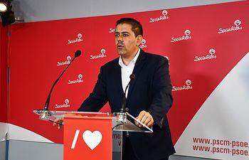 secretario de Organización de la Ejecutiva provincial del PSOE de Ciudad Real, José Manuel Bolaños,.