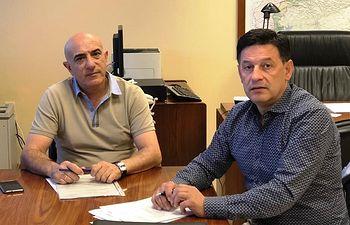 UPA CLM y Samuel Moraleda.