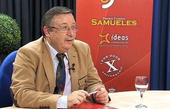Francisco Parra, presidente del Colegio Oficial de Médicos de Albacete.