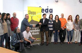 FEDA da a conocer a los doce finalistas de la II edición de su Programa de Apoyo a Emprendedores 'SHERPA', en el que colabora la Diputación