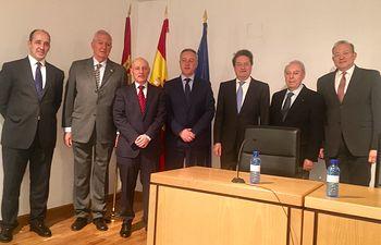 El subdelegado del Gobierno en Albacete inaugura las Jornadas Jurídicas organizadas por las Fundaciones Campollano y para la Magistratura
