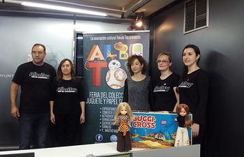 Presentación la III Feria del Coleccionismo Juguete y Papel Albatoy 2017.