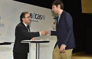 David Tercero, con la que cursa un doctorado en Economía Aplicada en la Universidad Autónoma de Barcelona.