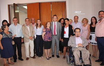 García Ferrer asiste al 10º Aniversario de la Asociación de Parkinson de Albacete. Foto: JCCM.