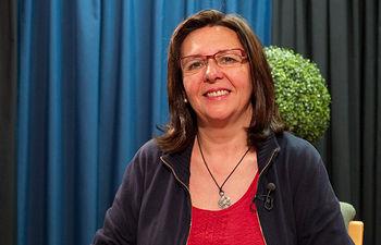 Victoria Delicado, candidata de Izquierda Unida a la Alcaldía de Albacete.