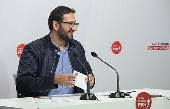 Sergio Gutiérrez, secretario de Organización del PSOE castellanomanchego.