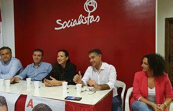 Inicio de campaña del Partido Socialista Obrero Español en la provincia de Albacete.