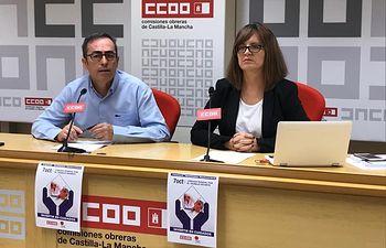 Paco de la Rosa y Mª Ángeles Castellanos.