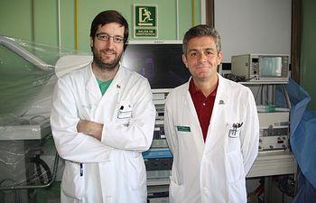 Doctores Morandeira y Moreno - Hospital Mancha Centro. Foto: JCCM.