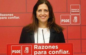 Esther Peña, portavoz del Comité Electoral del PSOE.
