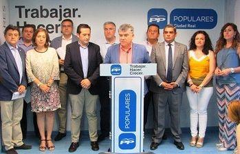 Carlos Cotillas y los Diputados Provinciales