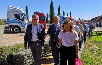 Jornadas sobre el transporte de mercancía por carretera que se celebran en Ciudad Real.
