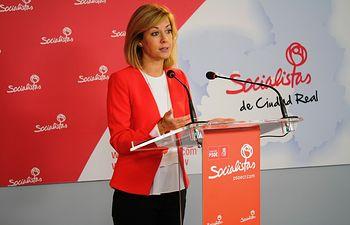 La diputada regional del PSOE, Ana Isabel Abengózar.