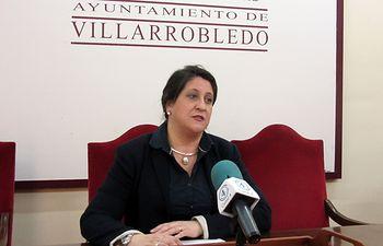 Cristina García, concejala de Educación.