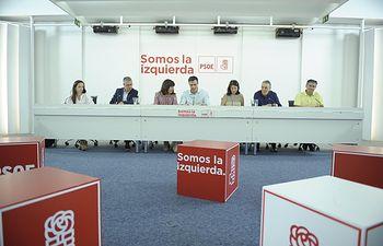 Reunión Ejecutiva Federal PSOE.