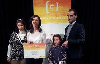 El Colegio La Paz, de Albacete, galardonado por su proyecto educativo. Foto: JCCM.