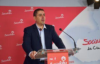 José Manuel Bolaños, secretario de Organización del PSOE provincial de Ciudad Real y senador por la provincia.